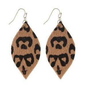 ⭐️COMING SOON⭐️Animal print earrings